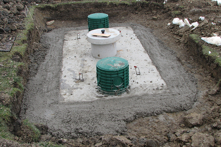 new and replacement septic systems from Orr construction