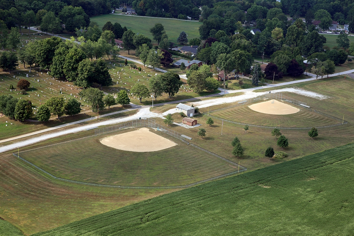 east union township ballfields by Orr construction