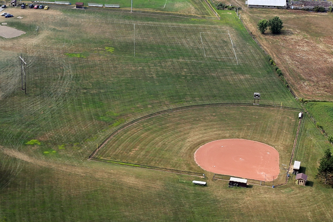 waynedate baseball field by Orr construction
