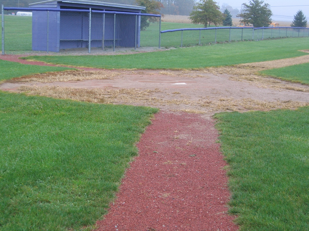 triway baseball field prior to work