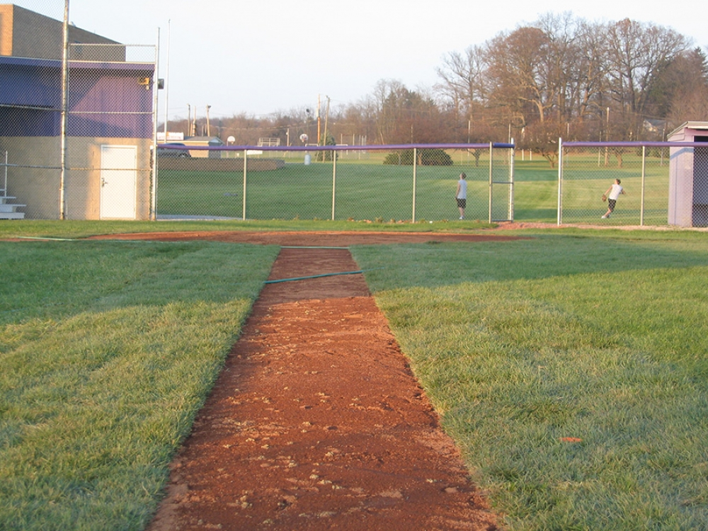 new third base line
