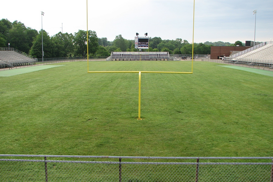 Jackson football field prior to reconstruction